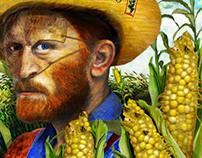 Vincent van Gogh and  Monsanto