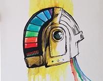 Daft Punk Helmet Paint