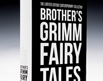 Grimm Fairy Tales Book Cover