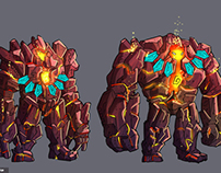 Character design for video game