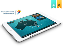 There's nothing like Australia - Tablet app