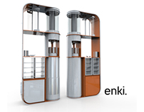 Enki - A Social Juicer for the Workplace