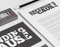 Defending The Cause Identity and Branding