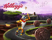 Kellogg's Land - Fantasy Theme Graphic Wall