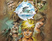 "Cover Design Children Book ""Philipp - Pakt der Piraten"""