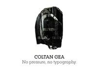 Coltan Gea Slab Typeface