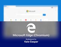 Redesign Microsoft Edge (Chromium) - Fluent Design