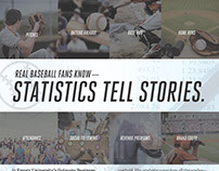 Baseball/Analytics Ad