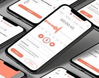 UI Design for Podcast Publishing App