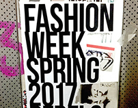 Fashion Week Hierarchy Poster