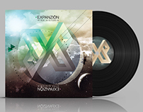 EXPANSION - cd and vinyl design