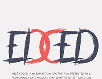 EDGED (Fiction Exhibit)