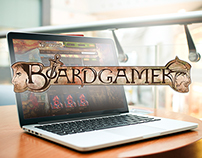 BoardGamer.ro | Logo & Website Design