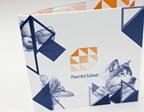 Multifold Art School Brochure