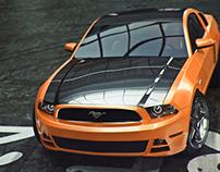 Ford Mustang 2014V6