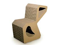 Cardboard chair Modus