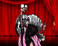 Mr.2 Bon Clay as Ostrich