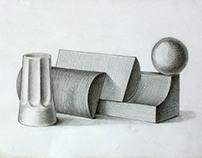 Рисуване - 2012 / Кандидатстудентски задачи
