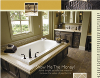 Bathroom Remodeling | 5 page magazine layout