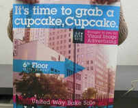 United Way Bake Sale Flier and Poster
