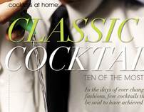 Classic Cocktails   2 page spread