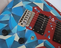 Guitar custom painting