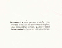 Portrait of an introvert