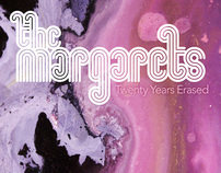 The Margarets: single covers
