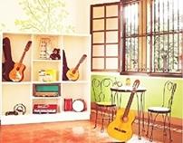Exhibit: Music Room of Asilo de San Vicente de Paul