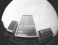 Media City - Fisheye Lomo