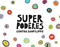 Superpoderes contra Sanfilippo