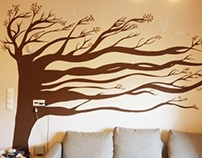 mural - the tree of life
