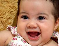 Batizado da pequena Isabela