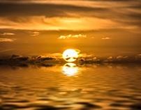 North Sea Sunrise, St Cyrus