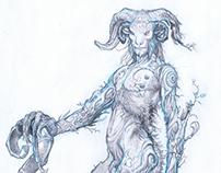 Pan's Labyrinth original designs by Sergio Sandoval