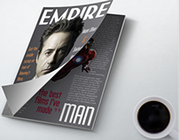 Experimental Robert Downey Jr. Mag Spread