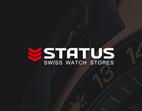 STATUS swiss watch shop site concept