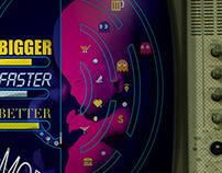 -CARTEL/POSTER- Bigger Faster Better More