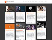 Nlog Wide Page - Music WordPress Theme