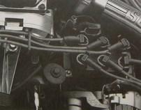 'Built Ford Tough' - Graphite / Pencil
