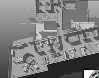 FREE LANCE WORK. 'NATIVE': OFFICE SPACE PLAN & DESIGN