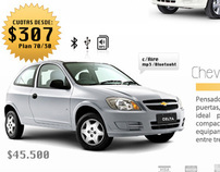 Newsletter Chevrolet celta