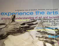 Visual Art & New Media Brochure