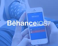 Behance app IOS7