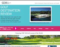 Golf Destination Review Web Site
