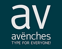 AVËNCHES TYPEFACE