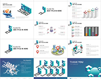 28+ Best Blue Creative Stereo chart PowerPoint template