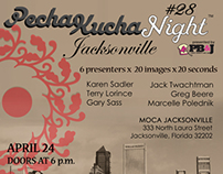 Pecha Kucha Night - Jacksonville Volume #28