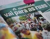 Veja São Paulo - A avenida vai para as ruas