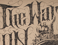 The War On Drugs gig poster